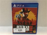 PS4 2018 Red Dead Redemption 2
