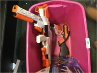 Large Lot of Video Game Guns