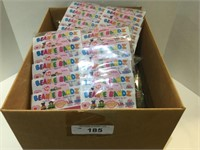 Large Box of Beanie Bandz Various Styles
