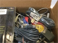Various Kinds of Cables Lot