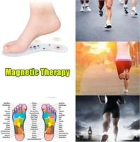 2 Pairs of Acupressure Magnet Massage Insoles,