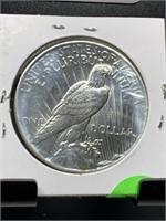 1926-D HI GRADE PEACE SILVER DOLLAR