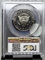 2002-S PCGS PR70DCAM JFK HALF DOLLAR