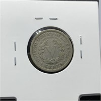 1910 LIBERTY V NICKEL COIN