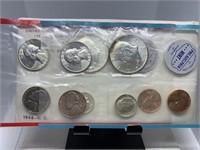 1964 P&D UNC SILVER COIN SET