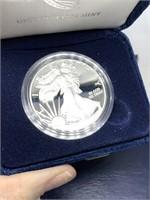 2013 1 OZ SILVER PROOF AMERICAN EAGLE BULLION COIN
