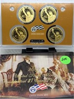 2007 $1 SILVER PROOF DOLLARS SET
