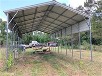 Portable RV shed  40 L x 20 W 14.5 H 11.5 side H