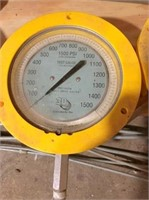 Test gauges for gas pipeline, Woodson sy