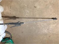 12V, 25 gal spray rig (works), sprayer & blower