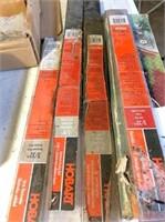 welding rods drill bits & gasket set
