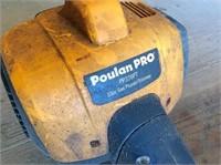 Husqvarna chainsaw & Poulan pro pole saw/