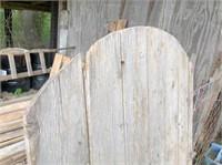 old wood barn door