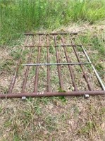 metal pipe fence panel 8' x 6'  H