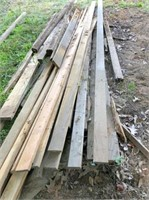 landscape timbers & assorted size lumber