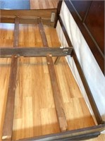 King-size sleigh bed frame