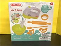 New Little Cook Mix And Bake Play Set