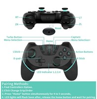 New Wireless Pro Controller For Nintendo Switch