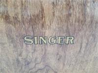 Antique Singer Machine Cover