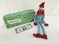 Vintage Goompy Sachet Doll