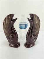 Terra Cotta Swans