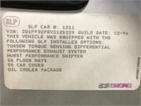1997 CHEVROLET CAMARO SS-SLP CONVERTIBLE
