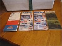 4 Vintage Road Maps Standard, Conoco & more