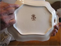 Antique Mason's Ironstone Soup Tureen & Underplate
