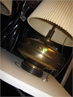 """Vintage Large Brass Table Lamp 35"""" x 18"""""""