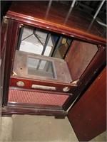 Antique Wood TV Cabinet (no inside parts)