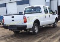 2011 Ford F-250  truck, crew cab ,4 WD