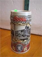"""1988 Coors Beer Stein 7"""""""