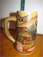 "1855 - 1991 Miller Beer Stein 7"""