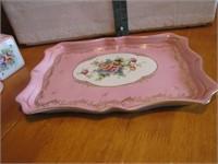 Vintage Porcelain Parisienne Dresser Set