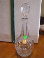 Nachtmann W. Germany Crystal Decanter 12""