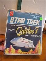 1974 Star Trel Galileo 7 Shuttlecraft NIB Model