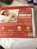 Copper Bamboo Sheets Queen Size