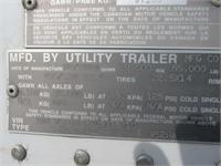 2010 UTILITY 53' REEFER DRY TRAILER