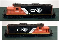 Canadian National 4497 GP9M Walthers HO