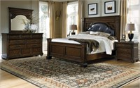 King - Pulaski Durango Ridge 5 pc Bedroom Suite