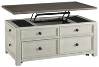 Ashley T637-20 Lift Top Storage Cocktail Table