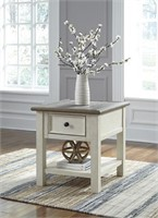 Ashley t637-3 Rectangular End Table w' Drawer