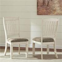 Ashley D647 Farmhouse Drawer Table & 6 Chairs