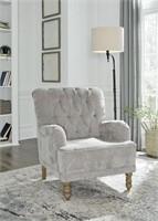 Ashley A3000200 Dinara Gray Accent Chair