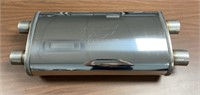 "MagnaFlow 2.5"" Dual Inlet/Outlet X Flow Muffler"