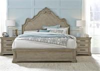 King - Pulaski Monterey Large Designer Panel Bed