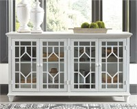 Ashley A4000221 Dellenbury Antique White Cabinet