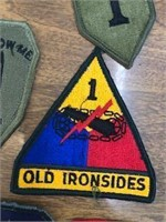 Collectible Military Patch Lot 70 pcs.