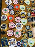 Collectible First Responder  Patch Lot 80 pcs.