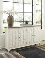 Ashley A4000268 Roranville Antique White Cabinet